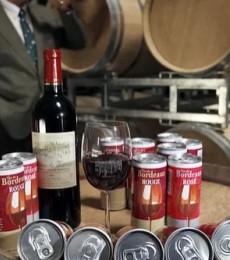 Quand Cacolac met le vin de Bordeaux en canette